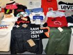 Artículos incautados falsos por la Policía Municipal de Madrid