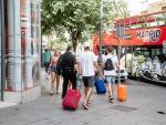 Imagen de recursos de turistas en Madrid.