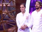 Tamara Falcó y Félix Gómez, en la Gran Final de 'MasterChef Celebrity 4'.