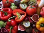 Alimentos ricos en vitaminas.