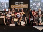 Cosplayers en la última edición de la Heroes Comic Con Madrid.