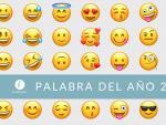 Emojis, elegida palabra del año por la Fundeu