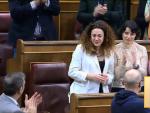 Aplauso general a Aina Vidal en la segunda investidura en el Congreso de los Diputados.