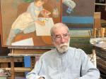 El pintor madrileño Manuel Alcorlo.
