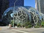 Las esferas de la sede de Amazon en Seattle, estado de Washington (EE UU).