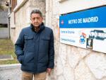 Santos González, trabajador de Metro que padece asbestosis a causa de la inhalación de fibras de amianto.