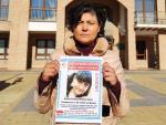 La madre de Estela Cristina, la chica de 21 años desaparecida en Barajas.