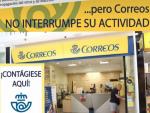 """""""Correos no interrumpe su actividad""""."""