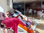 Urgencias por coronavirus en el Hospital Infanta Sofía de Madrid.