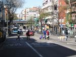Gente en Vallecas durante el Estado de Alarma.