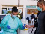 Realización de test rápidos en Ibiza a todos los pasajeros y transportistas de los dos ferrys a Formentera.