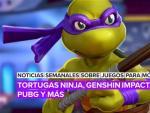 Noticias semanales sobre juegos para móvil: Tortugas Ninja, Genshin Impact, PUBG y más