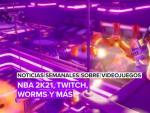 Noticias semanales sobre videojuegos: Worms, NBA 2K21, Twitch y más