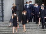 Los Reyes asisten al funeral por las víctimas de la Covid-19 en La Almudena