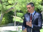 Sánchez evita valorar las críticas de Iglesias a periodistas