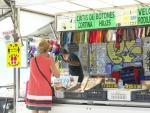 Vuelve la actividad de los mercadillos ambulantes en València