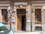 Entrada del colegio Sagrado Corazón, en el barrio de La Latina del distrito Centro de Madrid, en una imagen de archivo.