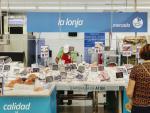 Imagen de archivo de un supermercado MAS.