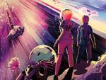 La NASA celebra Halloween con pósteres de ciencia real como si fueran cine de terror
