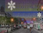 Barcelona tendrá más de 100 kilómetros de luces de Navidad para reactivar el comercio