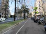La Diagonal de Barcelona perderá un carril para coches para favorecer el paso del autobús