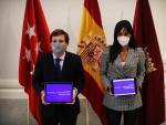 El alcalde, José Luis Martínez-Almeida, y la vicealcaldesa, Begoña Villacís, presentan el proyecto de presupuestos 2021