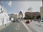 La calle San Vicente Mártir de València, a la altura de la Creu Coberta.