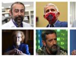Adolfo García Sastre, Anthony Fauci, Margarita del Val, Pedro Cavadas... algunos de los expertos que han vaticinado cuándo se producirá la vuelta a la normalidad tras la pandemia.