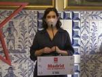La presidenta de la Comunidad de Madrid Isabel Díaz Ayuso