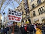 """Los hosteleros de Valladolid vuelven a concentrarse este martes ante las """"necesidades imperiosas"""" del sector"""