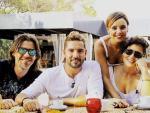 Javian, David Bisbal, Chenoa, Rosa López y David Bustamante en una imagen de 'OT: El reencuentro'.