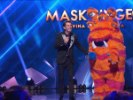 Arturo Valls y Monstruo, en 'Mask Singer'.