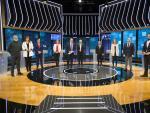 Debate electoral en RTVE de les principales fuerzas que se presentan a las elecciones al Parlament de Cataluña.