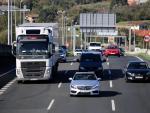 Archivo - Tráfico en las carreteras vascas.