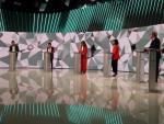 Los candidatos a la Presidencia de la Comunidad de Madrid, durante un momento del debate por el 4-M.