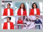 Montaje de los candidatos del debate de El Intermedio, de La Sexta.