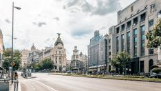Madrid, calle Gran Via
