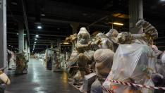 Fallas almacenadas en Feria València