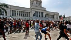 Protestas contra el Gobierno en Cuba