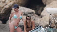 Dulceida con Lola Índigo en Ibiza