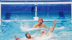 España vs Serbia waterpolo.