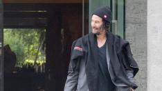Keanu Reeves de visita en Berlín