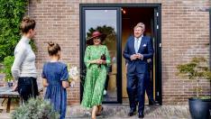 Los reyes de Holanda visitan Deventer