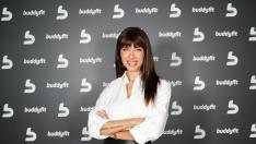 Pilar Rubio posa en un evento de la marca Buddyfit