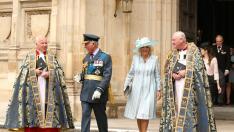 El príncipe Carlos en el 81 aniversario de la Batalla de Gran Bretaña