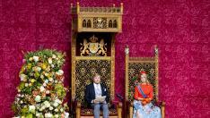 Los reyes de Holanda en el Price Day