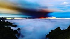 Nube de dióxido de azufre