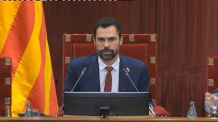 El Parlament podría volver a debatir sobre autodeterminación