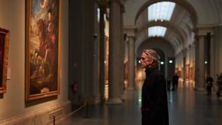 Jeremy Irons visita el Prado y elige su cuadro favorito