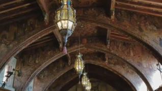 El artesonado de un convento de Valladolid aparece en una mansión de California